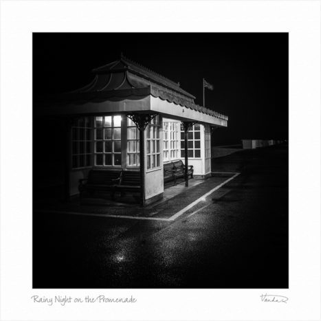 Rainy Night on the Promenade