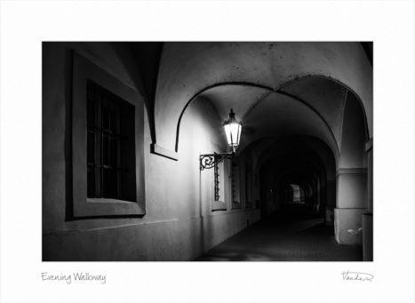 Evening Walkway