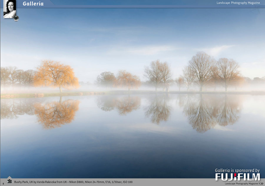 Landscapes Photography Magazine: Galleria Feature